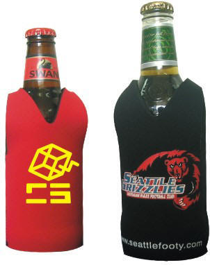 CDI-N06 - Footy Style Stubby Holder - Screenprint or Full Colour